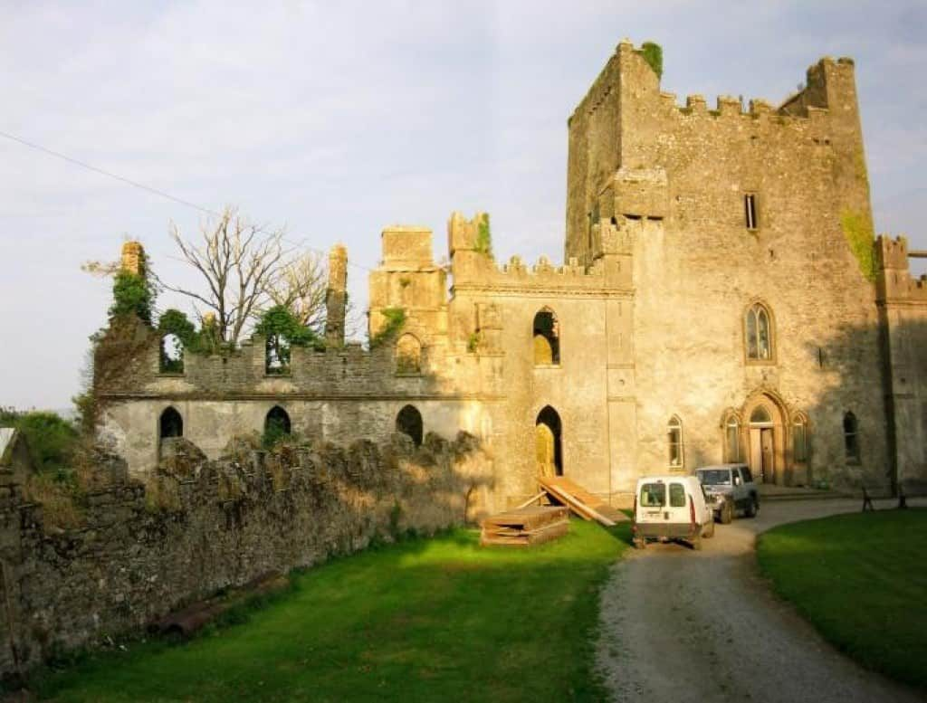 Leap Castle is one of the most haunted places on Earth.
