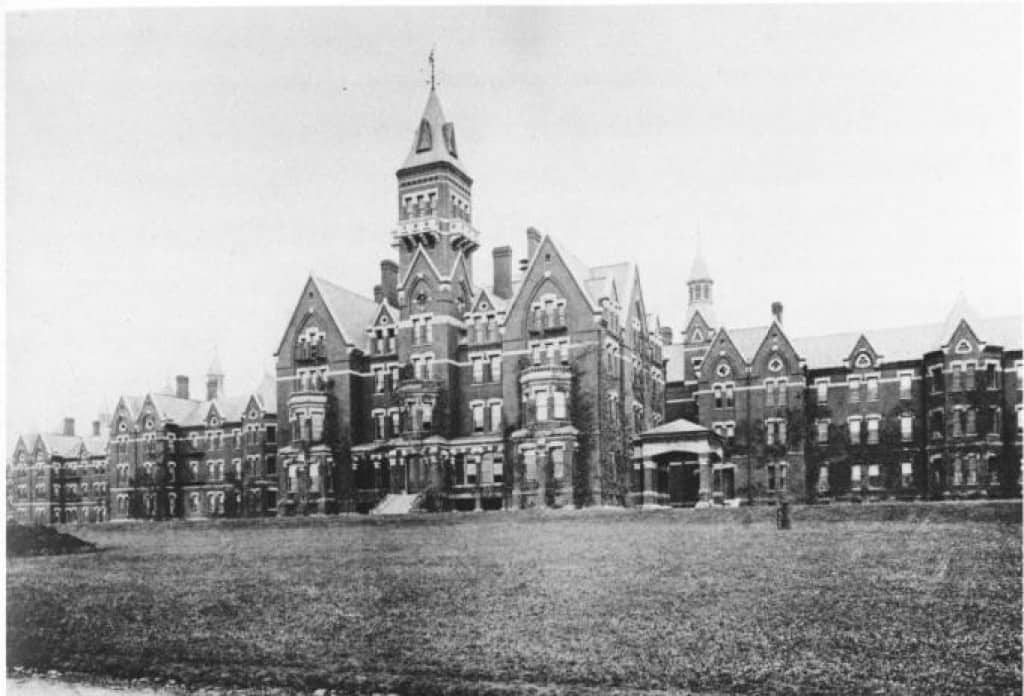 The Danvers State Hospital (State Lunatic Hospital), Danvers, Massachusetts