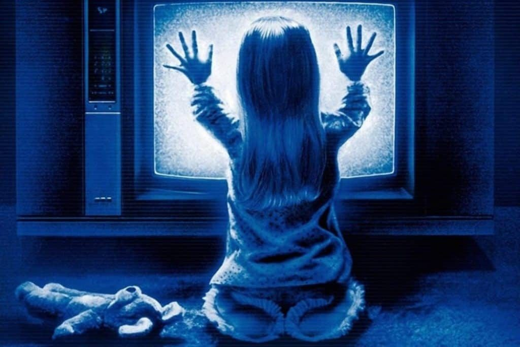 Poltergeist was a blockbuster hit in the 80s and fans claim the trilogy has a poltergeist curse. Source: Blumhouse.com