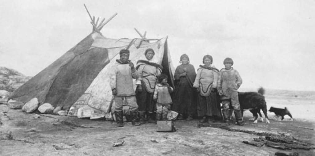 anjikuni lake incident Inuit tribe