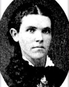 Esther Cox was the subject of a poltergeist haunting in 1878. Public.