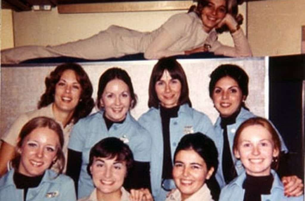Flight attendants of flight 401. Photo was taken earlier while on the ground in Miami. Source: Google Sites.
