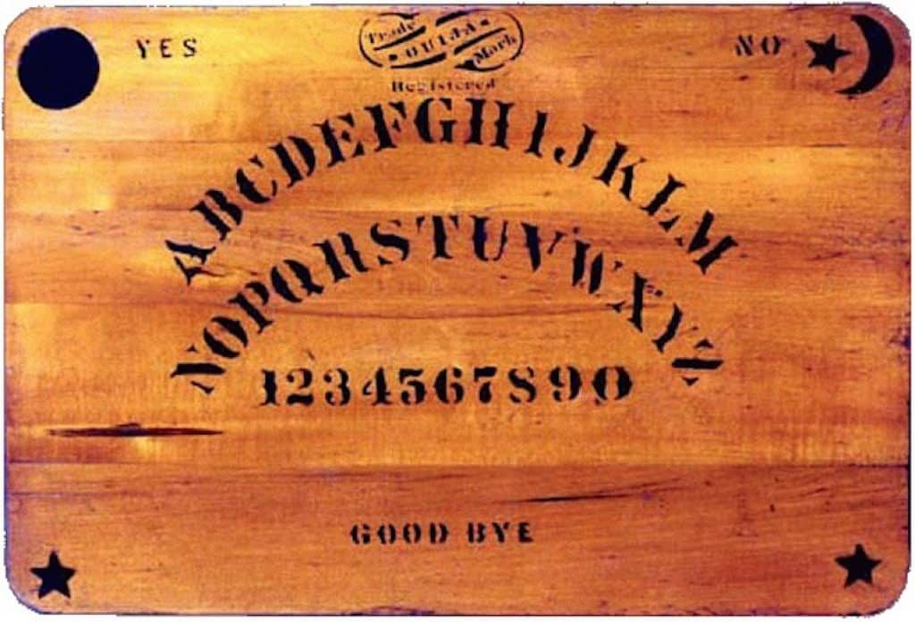 Always remember to say Goodbye when playing the Ouija Board.