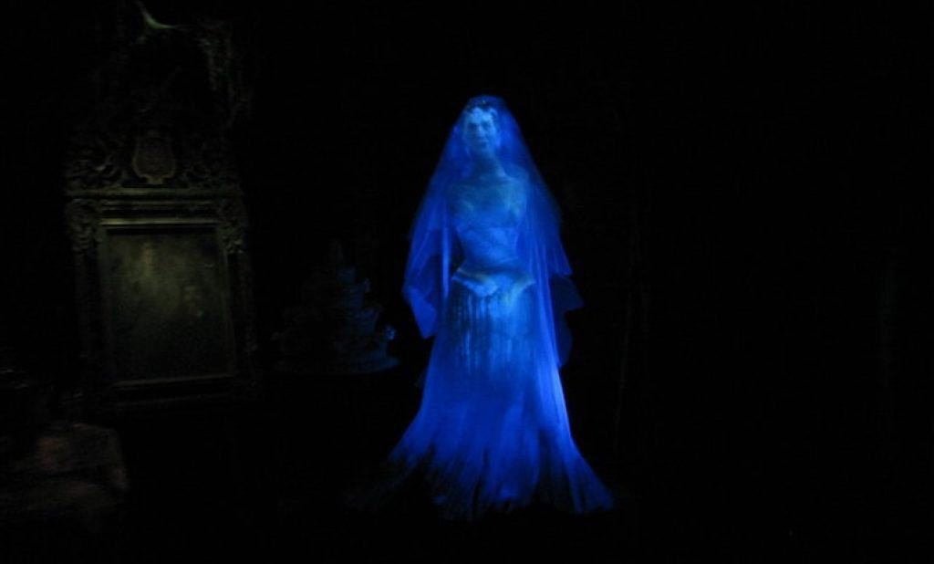The Blue Lady ghost continues to be a popular attraction of the Moss Beach Distillery.