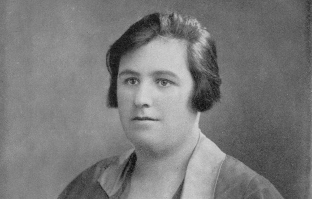 Portrait of Helen Duncan.