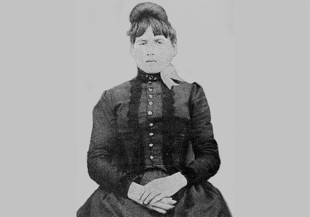 """Zona """"Elva"""" Heaster Shue's spirit became known as the Greenbrier Ghost."""