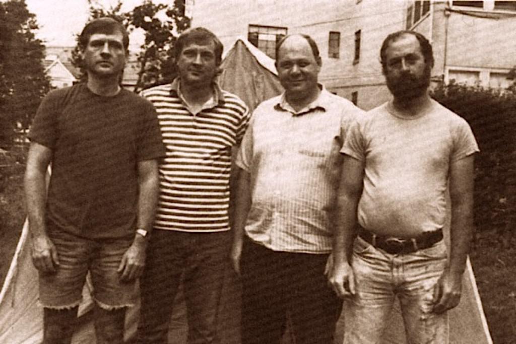 L-R are Jack Weiner, Jim Weiner, Charlie Fotz and Chuck Rak
