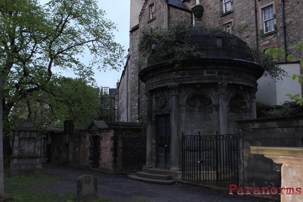 The black mausoleum of George Mackenzie