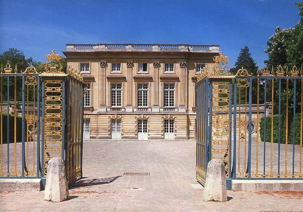 The Ghost of Versailles incident occurred near the Petit Trianon.