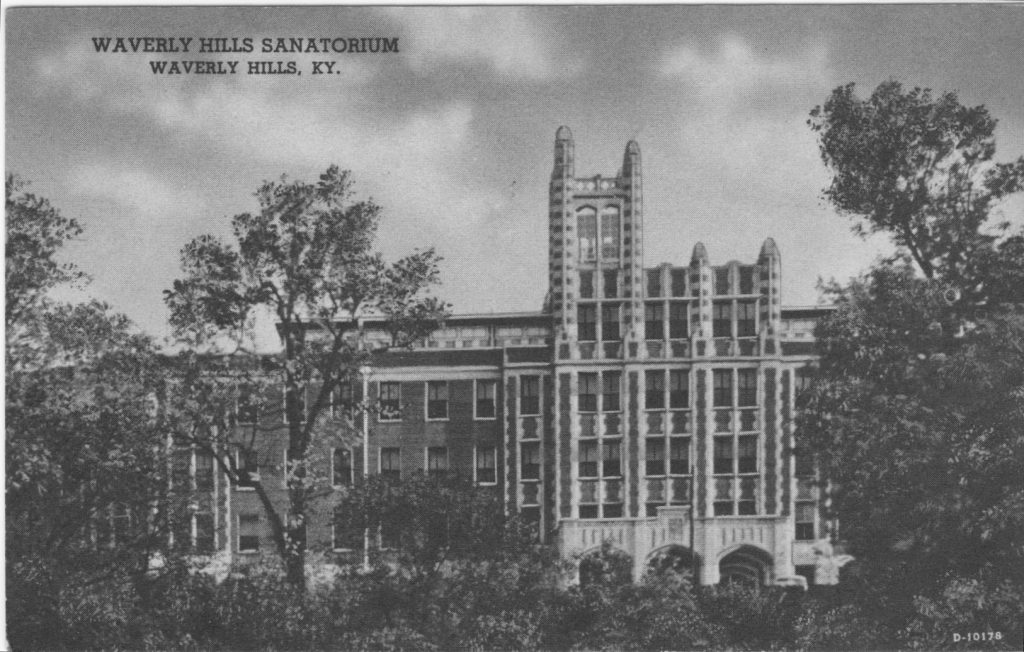 Waverly Hills Sanatorium in 1926.