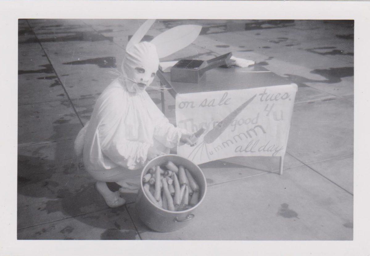 satanic easter bunny