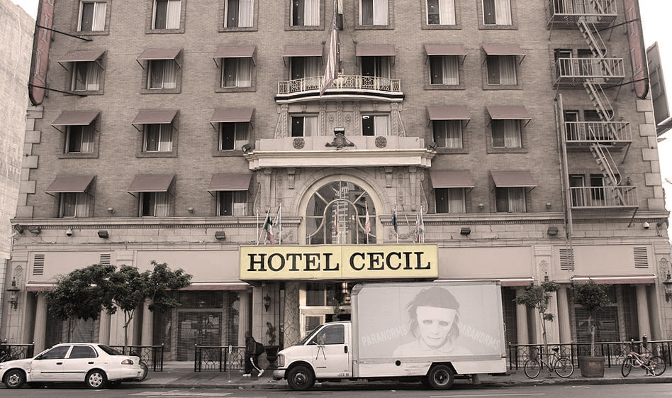 haunted hotels in california, cecil hotel