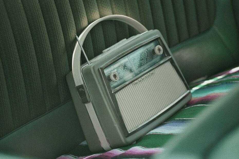 radio playing creepy audio recordings