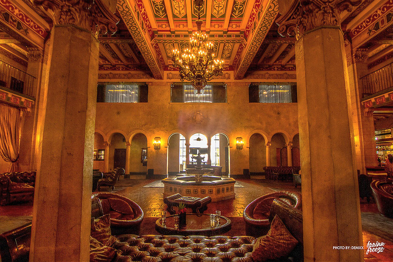 southern california haunted places, roosevelt hotel