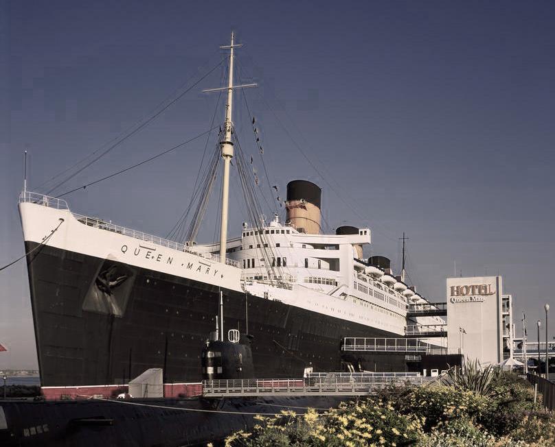 haunted hotel california queen mary oceanliner