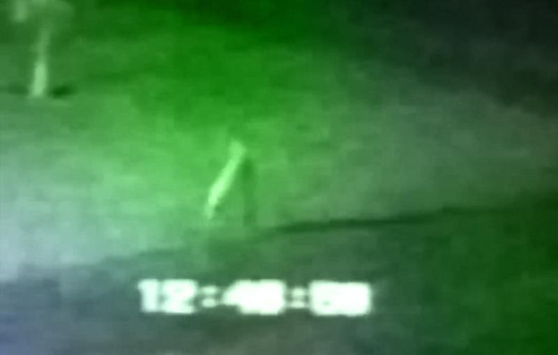 The Fresno Nightcrawler walks and is caught on video.